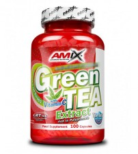 GREEN TEA EXTRACT + VITAMINA C 100cps