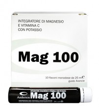 MAG 100 (FIALE 10X25 ML)