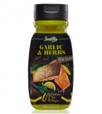 SALSA GARLIC&HERBS 0 CALORIE 320ml